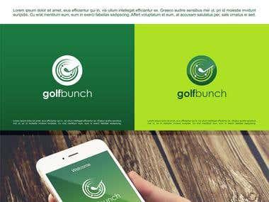 GolfBunch App Icon design
