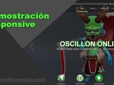 Vídeo demostración responsive Oscillon Online