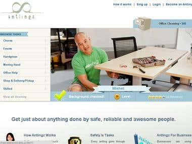 Task allocation website like taskrabbit.com