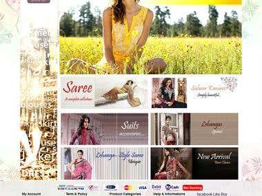 e-commerce site