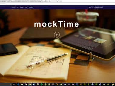 Online Mock Examination System