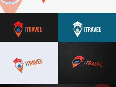 Logo for Trip company Travel, Invest, Migration, Education