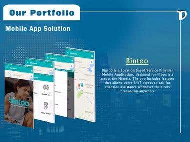 Bintoo Mobile App