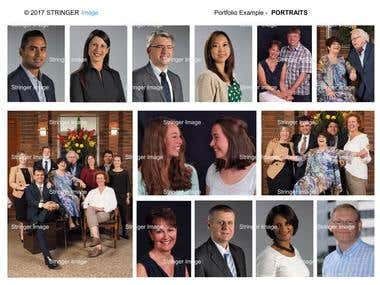 Business and private portraiture