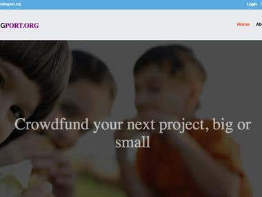 Crowd Peer Funding Platform