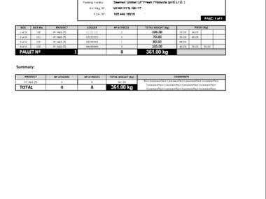Excel Macro for Report Generation