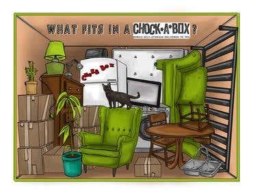 chokabox storage ad