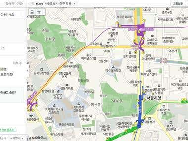 Scraping information from maps.Naver.com