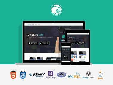 Photo App Website