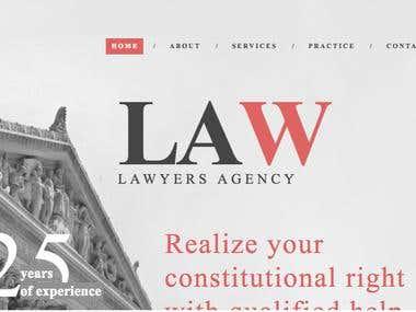 Law Firm Responsive Website