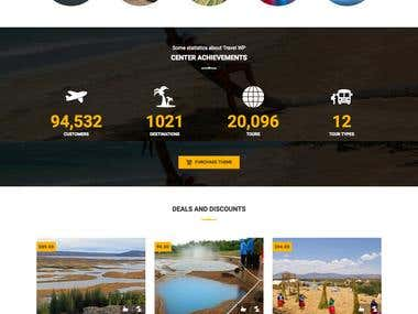 Travel & Tour Operator Website