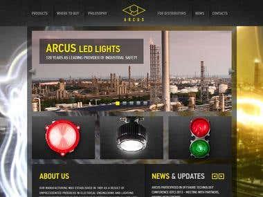 arcuslight.com