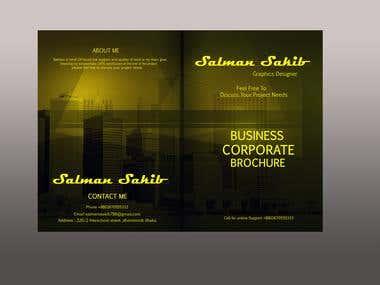 Bi Fold Brochure Cover