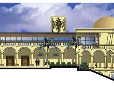 Architectural - Qatar Embassy