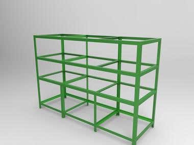 Rack Storage for industrial purpose
