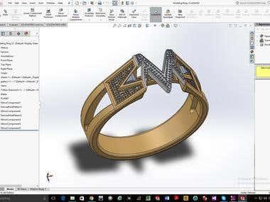 Jewelry Ring Design