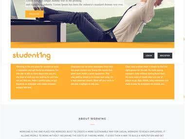 Student Work Portal