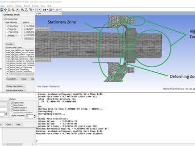 Dynamic Mesh Using Ansys Fluent