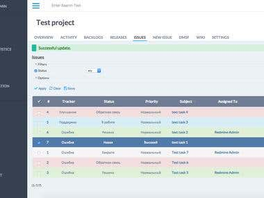 Redmine Project Managment System