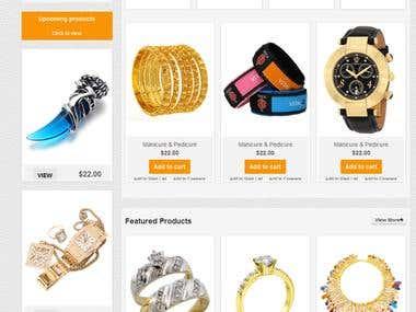 Project Online-Store, e-commerce