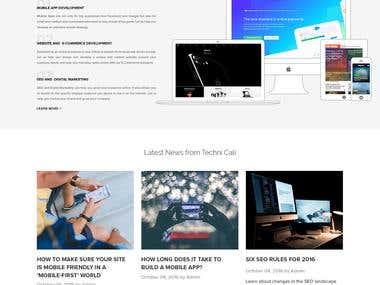 Tech calic. IT Company. (Contest Won)