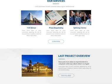 RootSelaar. Real Estate Website. (Contest Won)