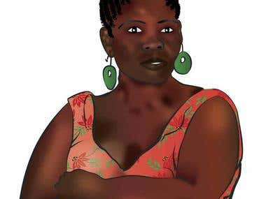 Edwidge Danticat & other illustrations