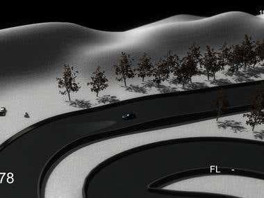 Unity 3D Isometric Style Racer