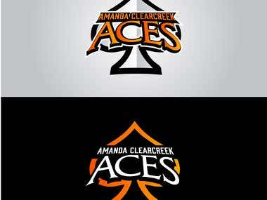 Amanda Clearcreek Sports Team Logo