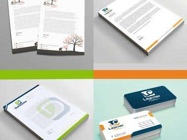 Business Cards and Letterhead