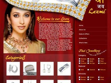 Template Design: Jewellery Business