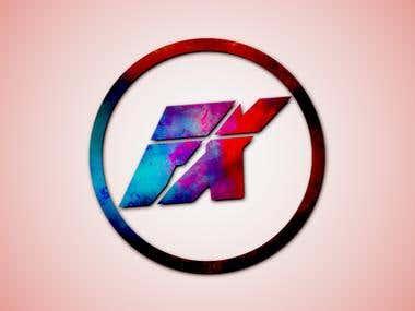 Galaxy effect logo design