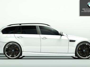 BMW 3 Series Touring e90 Custom