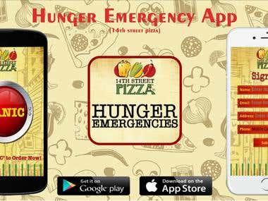 Hunger Emergency App