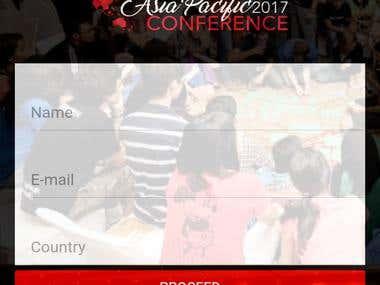 Event App - Android + iOS + Windows - Hybrid