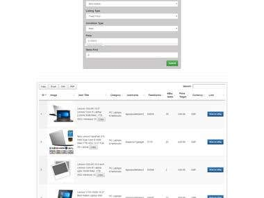 eBay Search Scrapping