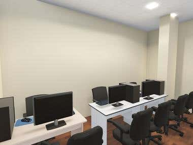 Office design with render