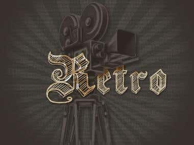 retro art project