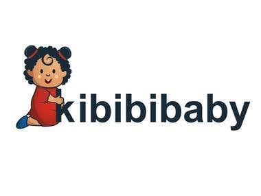 Logo for baby clothing line.