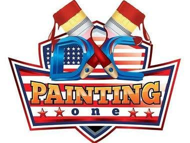 Logo for painting company.
