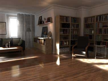 Interior render