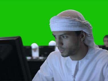 CyberQuest Shot Compositing