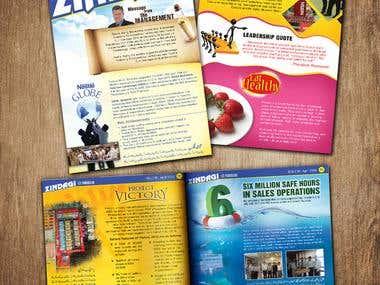 Monthly Newsletter for Nestle