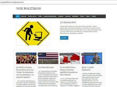 Blog académico para estudiantes de humanidades.