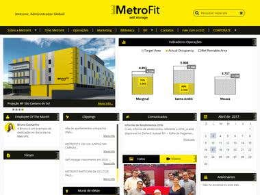 Metrofit (Brazil) - SharePoint Online (Office 365)