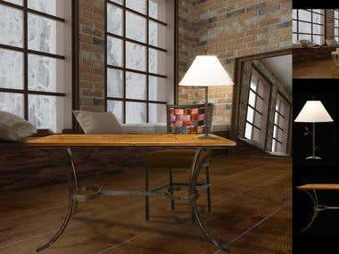 Manipulation of A Room with Furnitures