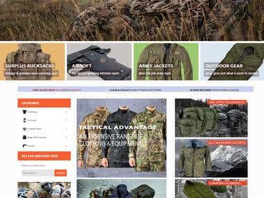 Army Surplus and Outdoors Store