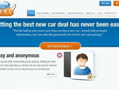 Bootstrap online cars