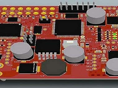 I will design Professional PCB and 3Dmodel