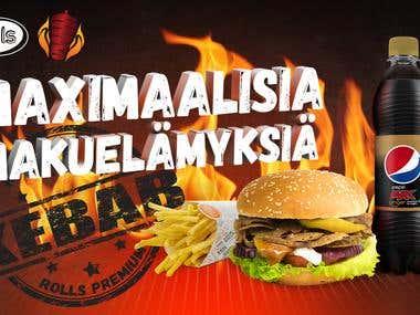 Rolls kebab